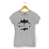 Boxing T-shirt For Women Clothing Melange Grey / XS Turtle Dojo
