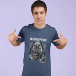 Creepers Dark Merch T-shirt For Men Clothing Turtle Dojo
