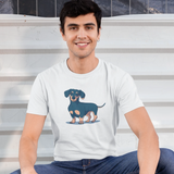 Dachshund T-shirt For Men Clothing Turtle Dojo