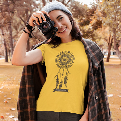 Dream Catcher T-shirt For Women Clothing Turtle Dojo