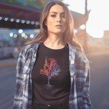 Enchanted Tree Crop Top For Women Clothing Turtle Dojo