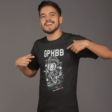 GPKBB Dark T-shirt For Men Clothing Turtle Dojo