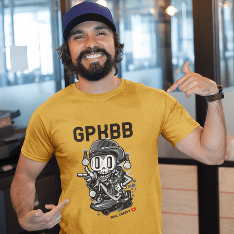 GPKBB Light T-shirt For Men Clothing Turtle Dojo