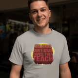 Hero Teachers T-shirt For Men Clothing Turtle Dojo