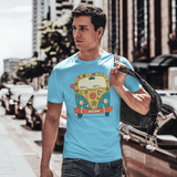 Hippie Van T-shirt For Men Clothing Turtle Dojo