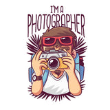 I Am A Photographer T-shirt For Men Clothing Turtle Dojo