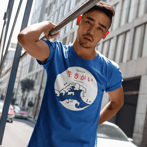 Ikigai Reason For Being T-shirt For Men Clothing Turtle Dojo