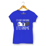 It's Anime T-shirt For Women Clothing Royal Blue / XS Turtle Dojo
