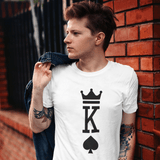 King Of Spades T-shirt For Men Clothing Turtle Dojo