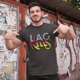 Lag Kills T-shirt For Men Clothing Turtle Dojo