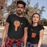 Lock & Key Couple T-shirt Turtle Dojo
