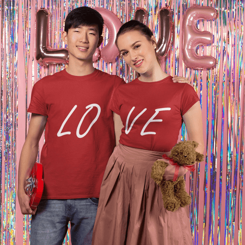 Love Couple T-shirt Couple Tshirt Turtle Dojo