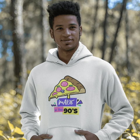 Made in the 90's Hoodie For Men & Women Clothing Turtle Dojo