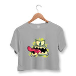 Cyclops Monster Crop Top For Women