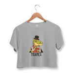 Tearex Dinosaur Crop Top For Women