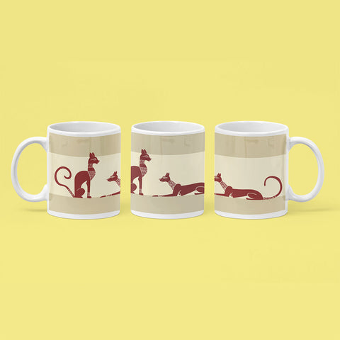 Egyptian Design Coffee Mug