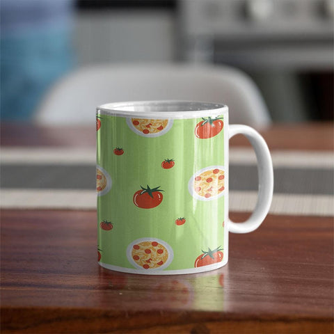 Tomato Pizza Coffee Mug