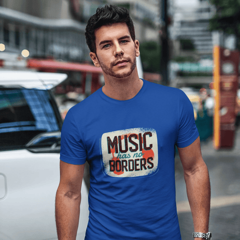 Music Quote T-shirt For Men Clothing Turtle Dojo