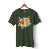 Golden Retriever Puppy T-shirt For Men