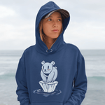 Polar Bear Hoodie For Men & Women Clothing Turtle Dojo