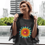 Psychedelic Love T-shirt For Women Clothing Turtle Dojo