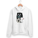 Puppies Playing Hoodie For Men & Women Clothing White / S Turtle Dojo
