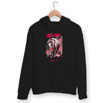 Red Girl Hoodie For Men & Women Clothing Black / S Turtle Dojo