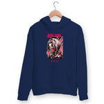 Red Girl Hoodie For Men & Women Clothing Navy Blue / M Turtle Dojo