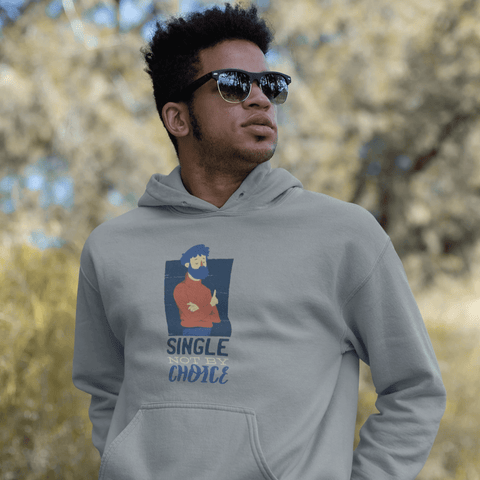 Single Not By Choice Hoodie For Men & Women Clothing Turtle Dojo