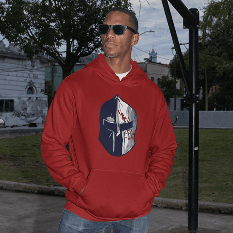 Spartan Helmet Hoodie For Men & Women Clothing Turtle Dojo