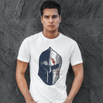Spartan Helmet T-shirt For Men Clothing Turtle Dojo