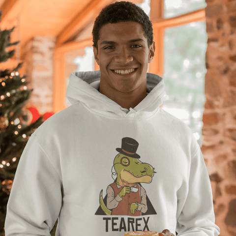 Tearex Dinosaur Hoodie For Men & Women Clothing Turtle Dojo