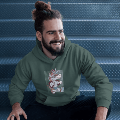 Unicorn School Hoodie For Men & Women Clothing Turtle Dojo