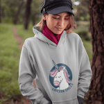 Unicorn Smile Hoodie For Men & Women Clothing Turtle Dojo