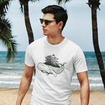 Whale Forest T-shirt For Men Clothing Turtle Dojo
