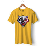Wolfy Gamer Official T-shirt For Men Clothing Golden Yellow / S Turtle Dojo