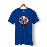 Wolfy Gamer Official T-shirt For Men Clothing Royal Blue / S Turtle Dojo