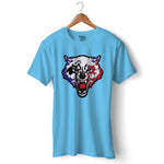 Wolfy Gamer Official T-shirt For Men Clothing Sky Blue / S Turtle Dojo