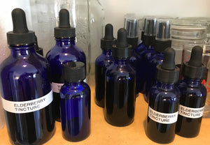 Elderberry Tincture made w/ Vegetable Glycerin