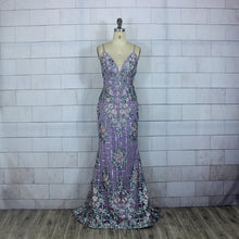 Load image into Gallery viewer, Purple Evening Wear