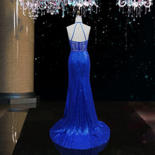 Load image into Gallery viewer, Blue Evening Wear