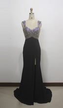 Load image into Gallery viewer, Black With Silver Evening Wear
