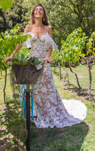 Load image into Gallery viewer, LOVE SOMEBODY-Boho Lace Wedding Dress Sample