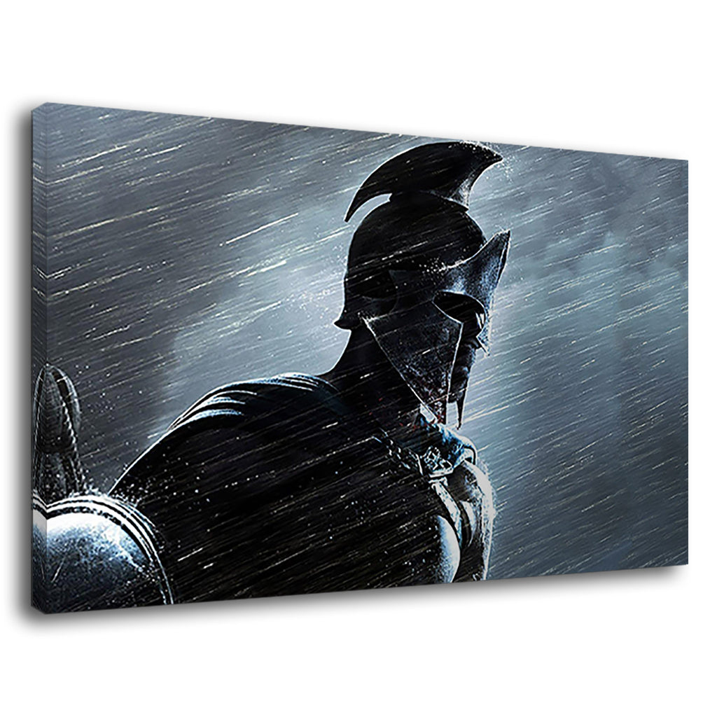 Spartan Roman Soldier Warrior 300 Movie Film Rain