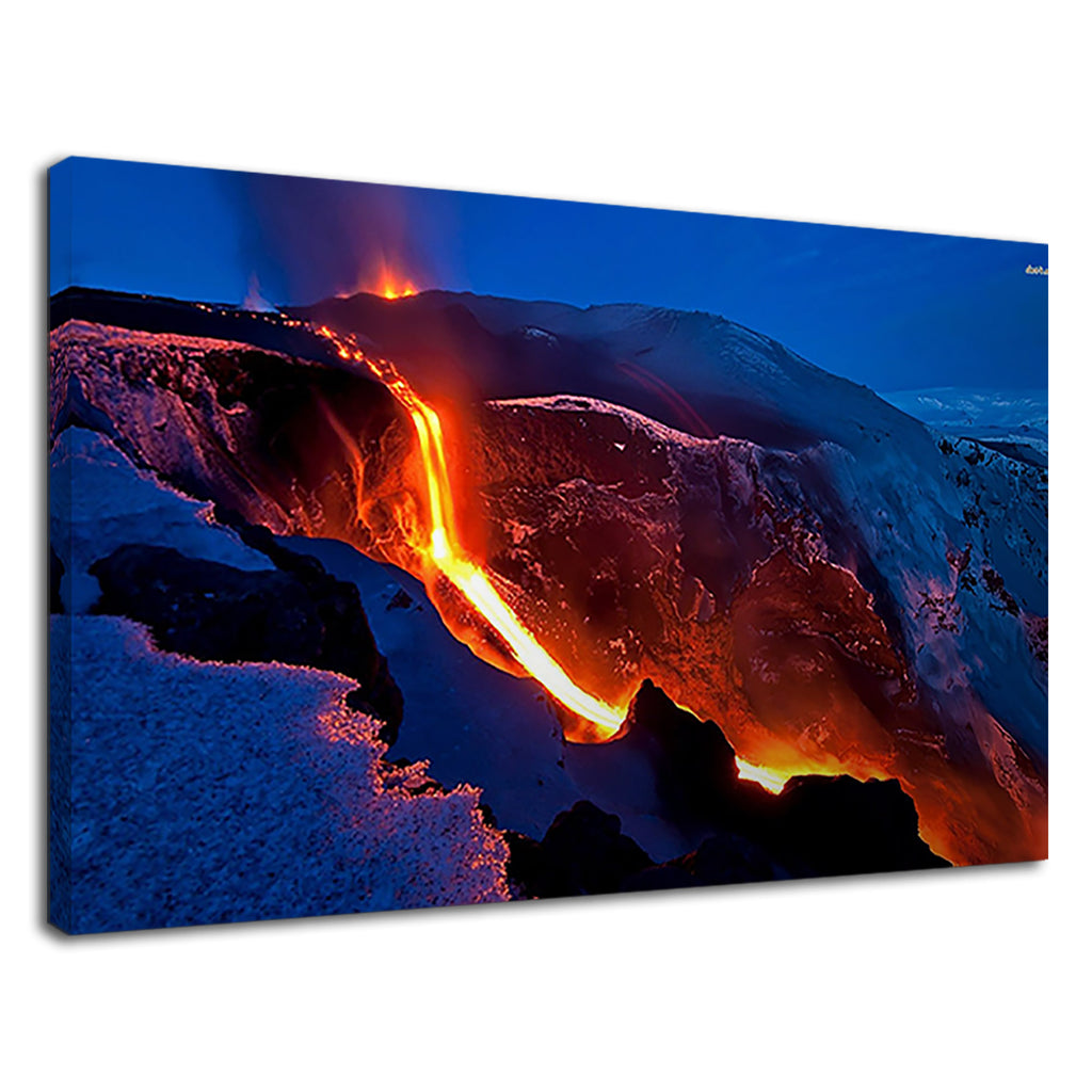 Melting Lava From Iceland For Living Room