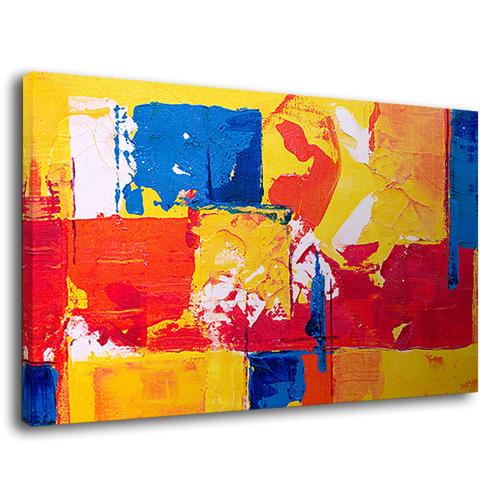 Abstract Expressionism Oil Painting Multicolor