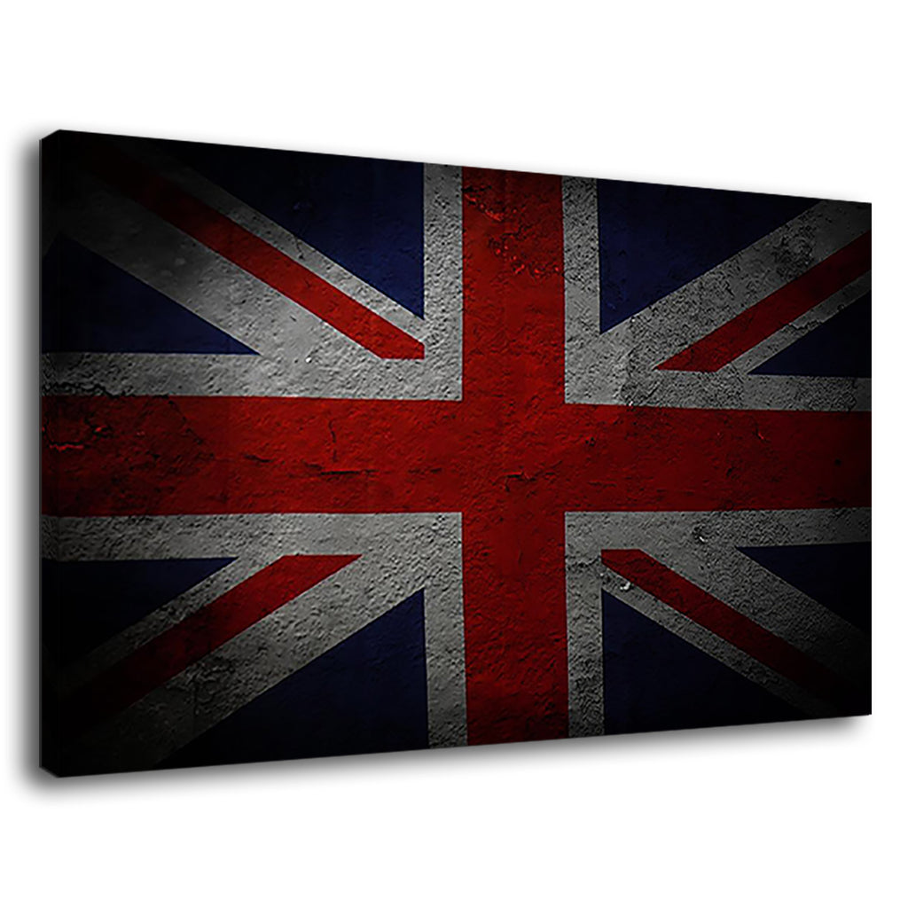 Grunge Flag Of Great Britain For Drawing Room