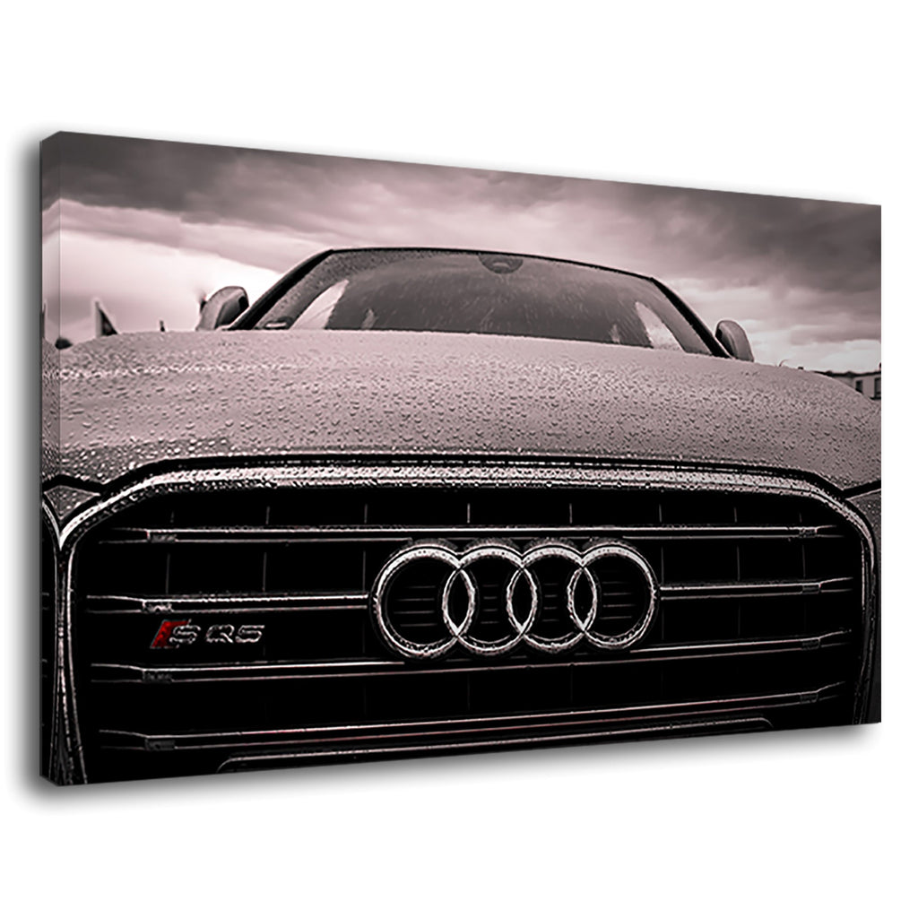 Audi Black And Chrome Grille Car German Vehicles