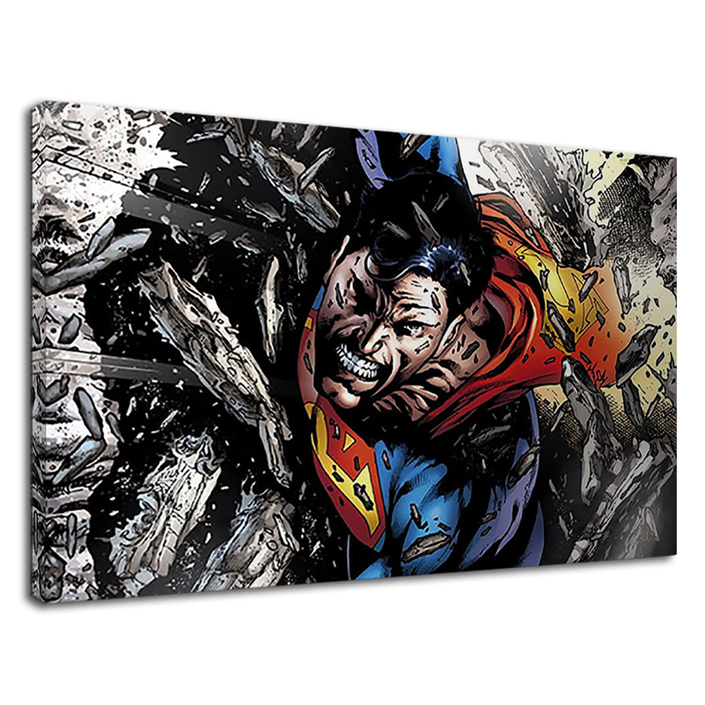 Superman The Mighty Comic Hero For Boys Bedroom