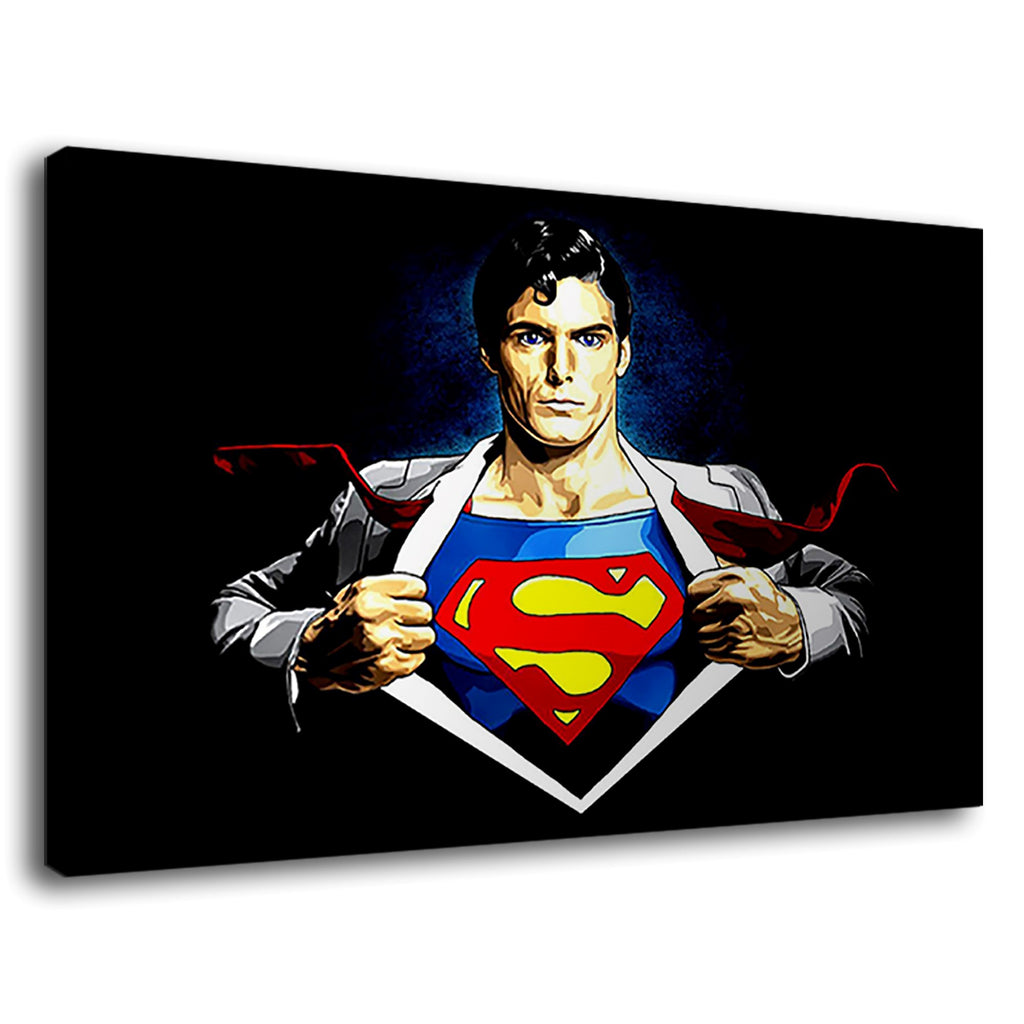 Superman Is A Fictional Superhero Of Comic Book